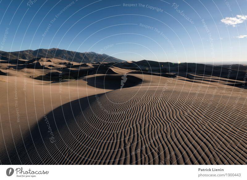 Great Sand Dunes National Park, Colorado Ferien & Urlaub & Reisen Natur Sommer Landschaft Erholung ruhig Ferne Berge u. Gebirge Wärme Umwelt Tourismus Freiheit