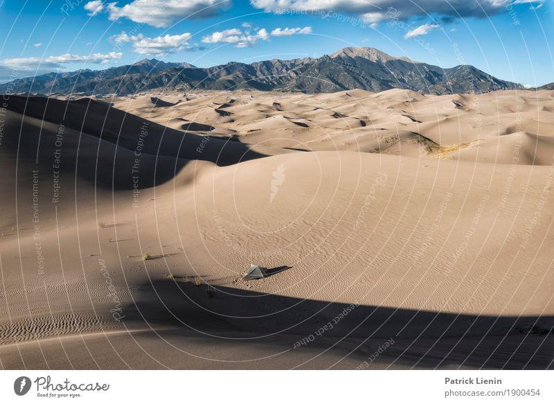 Great Sand Dunes National Park Ferien & Urlaub & Reisen Abenteuer Freiheit Camping wandern Umwelt Natur Landschaft Sonne Sommer Klima Klimawandel Wetter