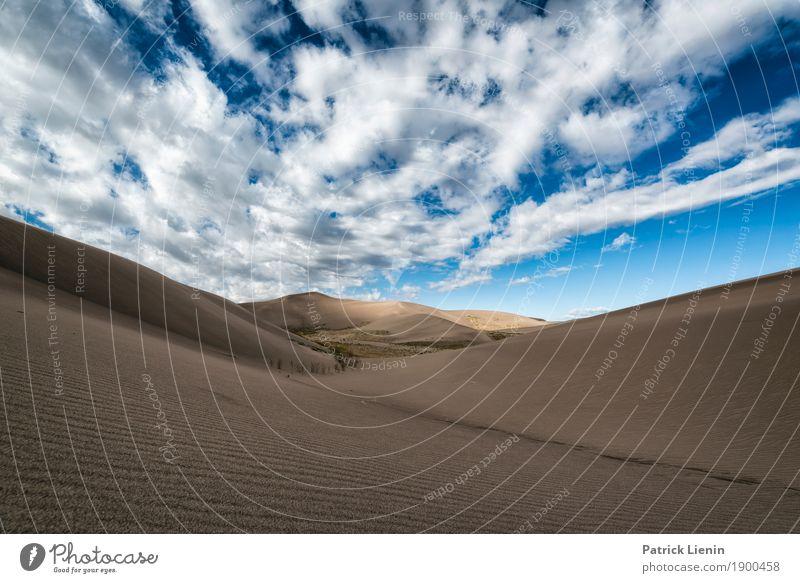 Great Sand Dunes National Park, Colorado Zufriedenheit Sinnesorgane Erholung ruhig Ferien & Urlaub & Reisen Abenteuer Ferne Freiheit Expedition Camping wandern