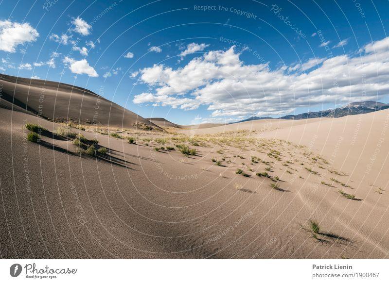 Great Sand Dunes National Park, Colorado Himmel Ferien & Urlaub & Reisen Natur Sommer Landschaft Erholung Wolken ruhig Ferne Wärme Umwelt Freiheit Ausflug