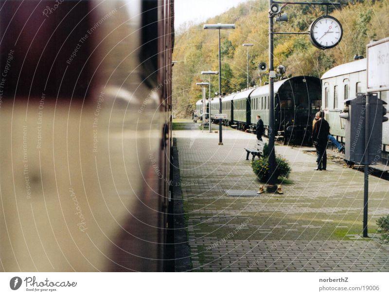 Bahnhof Verkehr Bochum Dampflokomotive