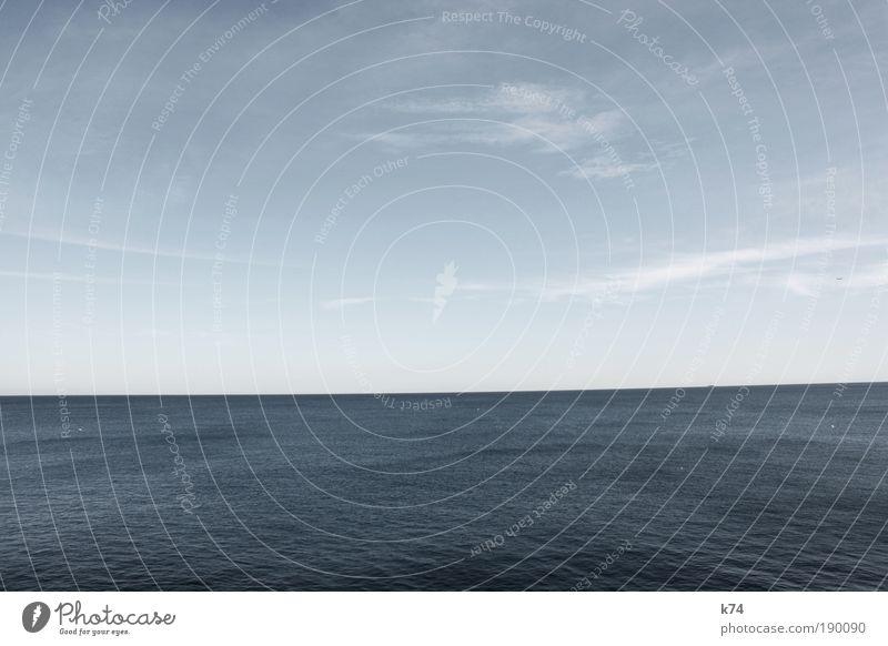 seascape IV Umwelt Natur Landschaft Urelemente Luft Wasser Himmel Horizont Sonnenlicht Sommer Herbst Winter Wind Wellen Fjord Nordsee Ostsee Meer See frei groß