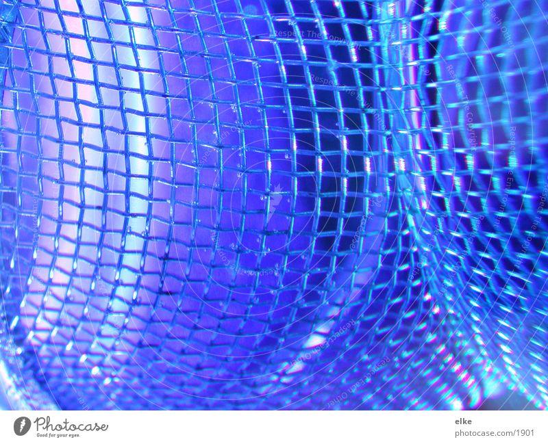 vernetzte welten zwei Sieb Makroaufnahme Nahaufnahme Wasser Glas