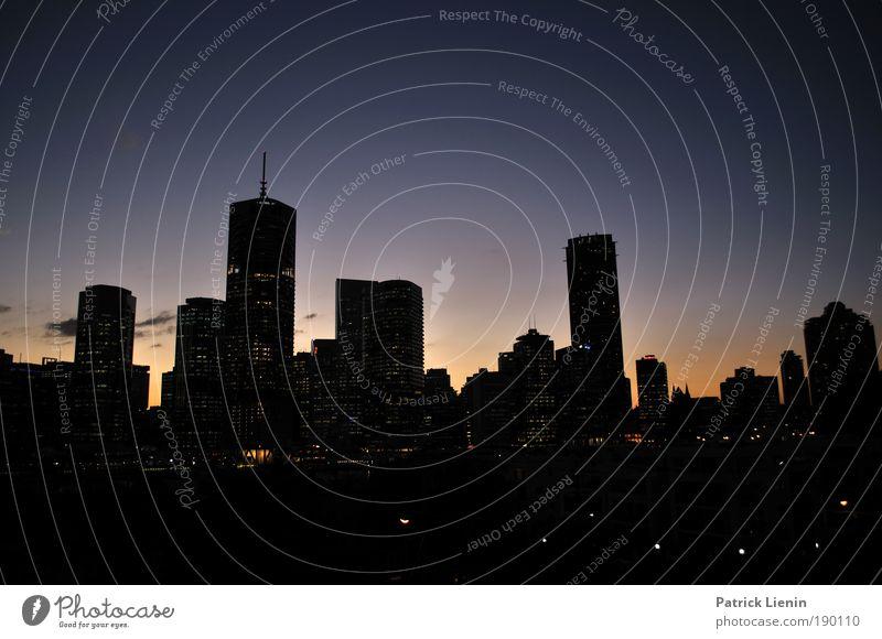 Skycraper II Stadt Ferien & Urlaub & Reisen Ferne hoch Hochhaus Skyline Aussicht Stadtzentrum Sightseeing Australien Nachtleben