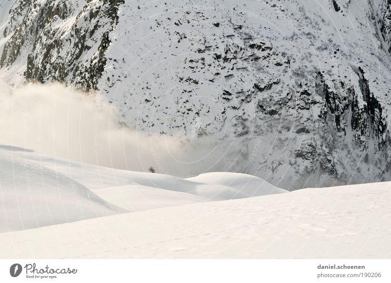WSV Umwelt Natur Landschaft Winter Klima Wetter Eis Frost Schnee Felsen Alpen Berge u. Gebirge Schlucht weiß Licht Schatten