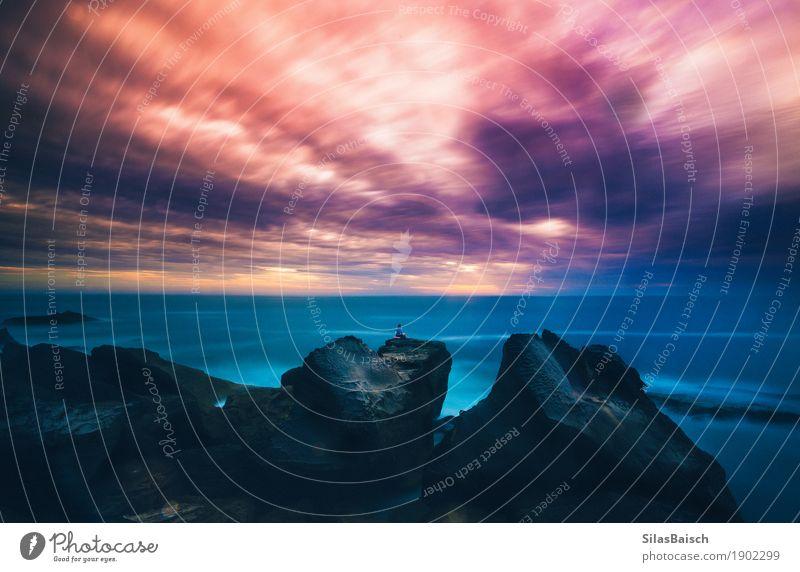 Gesegnet Lifestyle Fitness Wellness Erholung Meditation Ferien & Urlaub & Reisen Ausflug Abenteuer Ferne Freiheit Sommerurlaub Meer Insel Wellen wandern Yoga