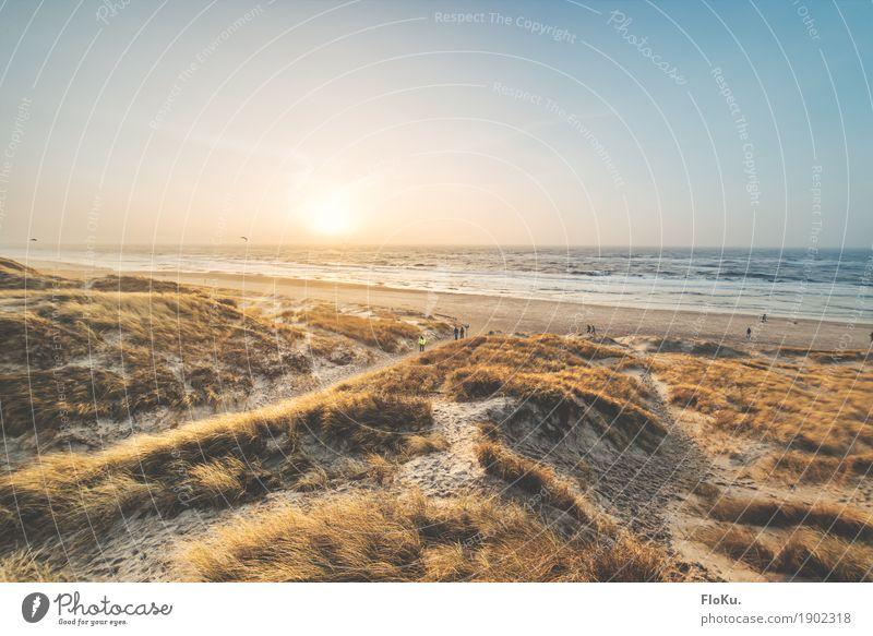 Bjerregard, Dänemark Himmel Natur Ferien & Urlaub & Reisen Wasser Sonne Meer Landschaft Ferne Strand Wärme Umwelt natürlich Küste Freiheit Stimmung Sand