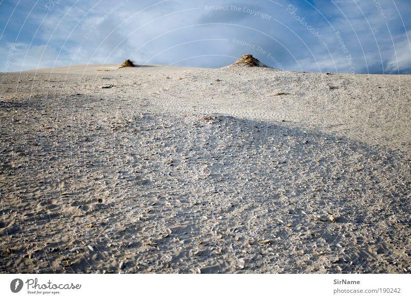 118 [z.weit] Natur Ferien & Urlaub & Reisen Sommer Sonne Landschaft Strand Umwelt Ferne Freiheit Sand träumen Gipfel Seeufer Hügel Wüste Sommerurlaub