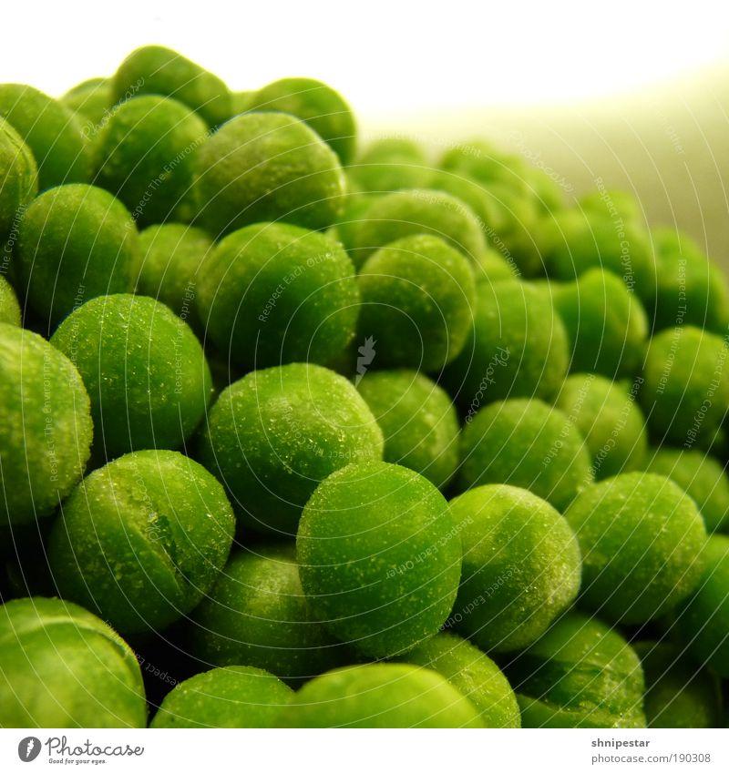 Erbsenzähler grün kalt Gesundheit Stimmung Lebensmittel Ernährung ästhetisch Küche genießen fest Gemüse gefroren Bioprodukte Abendessen Festessen Mittagessen