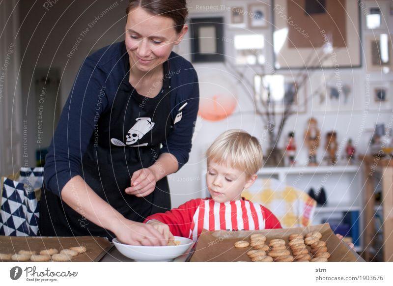 Immer wieder Plätzchen ! Teigwaren Backwaren Plätzchen ausstechen Plätzchenteig Ernährung Freizeit & Hobby Häusliches Leben Wohnung Mensch feminin Kind