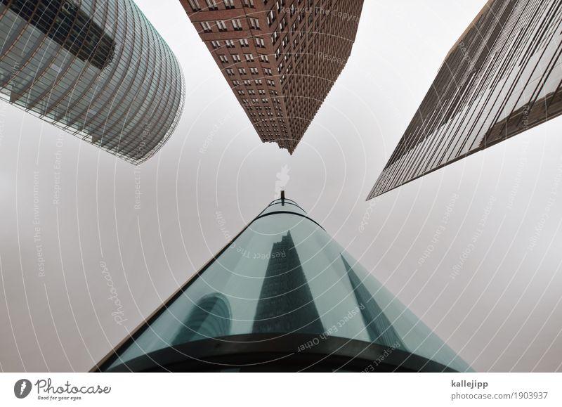die vier musketiere Stadt Hauptstadt Stadtzentrum Skyline überbevölkert Menschenleer Haus Hochhaus Bankgebäude Bauwerk Gebäude Architektur Mauer Wand Fassade