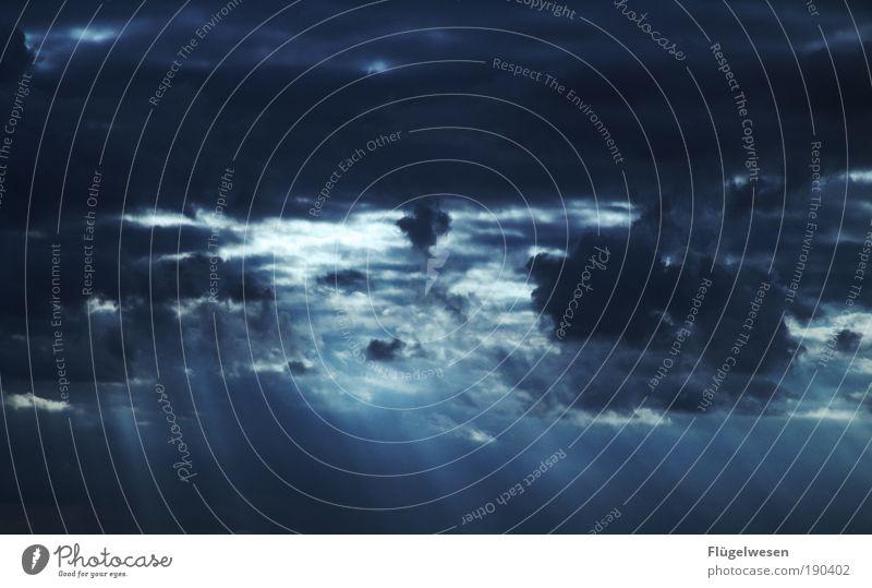 Storm Wasser Sommer Ferien & Urlaub & Reisen Ferne Regen Luft Wetter Kunst Angst Wind Horizont Ausflug Nebel Wassertropfen Klima Lifestyle