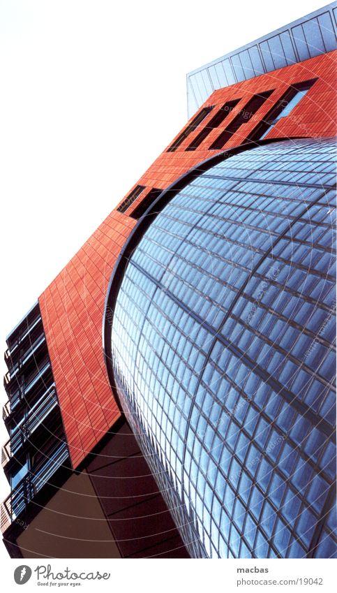 Bachsteingebäude Potsdamer Platz Fassade Fenster Haus Gebäude Stadt Architektur Berlin modern Glas Deutschland Arbeit & Erwerbstätigkeit Industriefotografie
