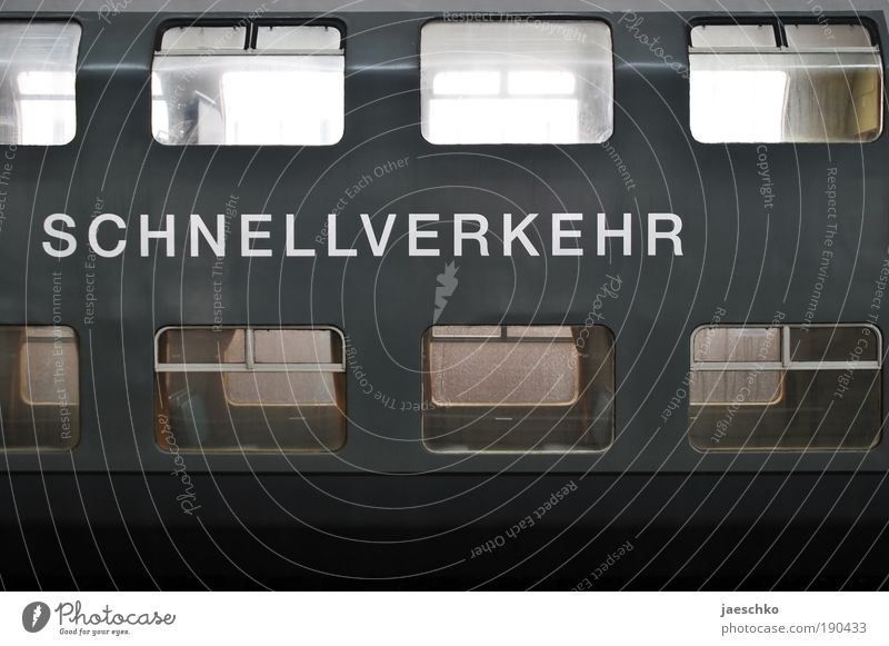 Quickie alt Ferien & Urlaub & Reisen Einsamkeit kalt grau Verkehr Eisenbahn Vergänglichkeit Güterverkehr & Logistik Vergangenheit historisch Mobilität