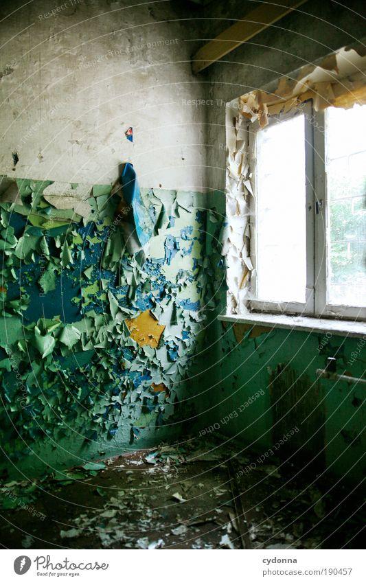 Eigenständige Umgestaltung ruhig Einsamkeit Farbe Leben Wand Stil Fenster träumen Mauer Raum Design Zeit Wandel & Veränderung Dekoration & Verzierung Häusliches Leben Vergänglichkeit