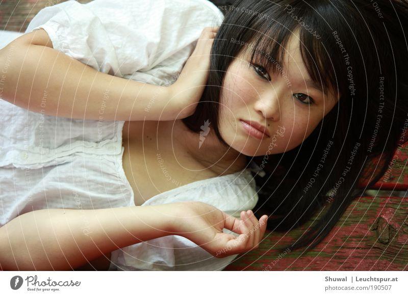 giana sisters Jugendliche schön Gesicht Erwachsene Auge feminin Haare & Frisuren Haut liegen ästhetisch Hoffnung Kultur 18-30 Jahre beobachten Neugier Asien