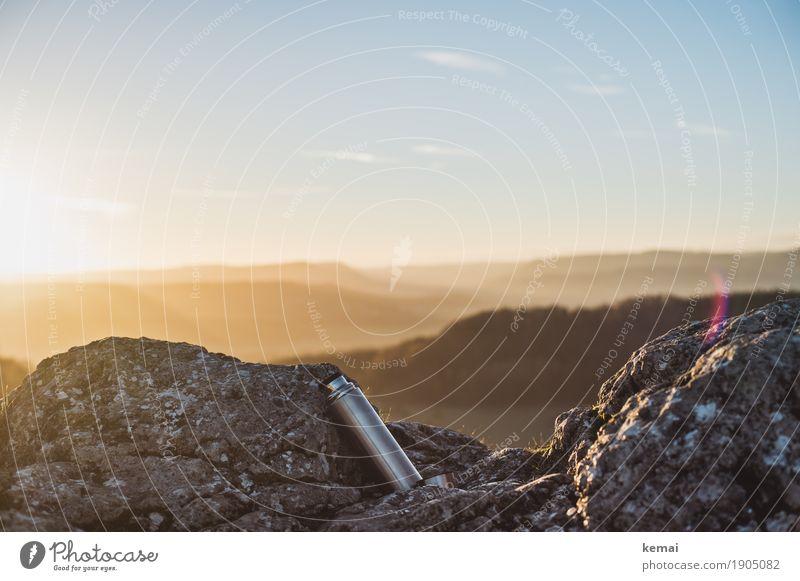 Verpflegung ist wichtig Himmel Natur Sommer schön Landschaft Erholung ruhig Ferne Wärme Leben Lifestyle Umwelt Freiheit Felsen Ausflug Freizeit & Hobby
