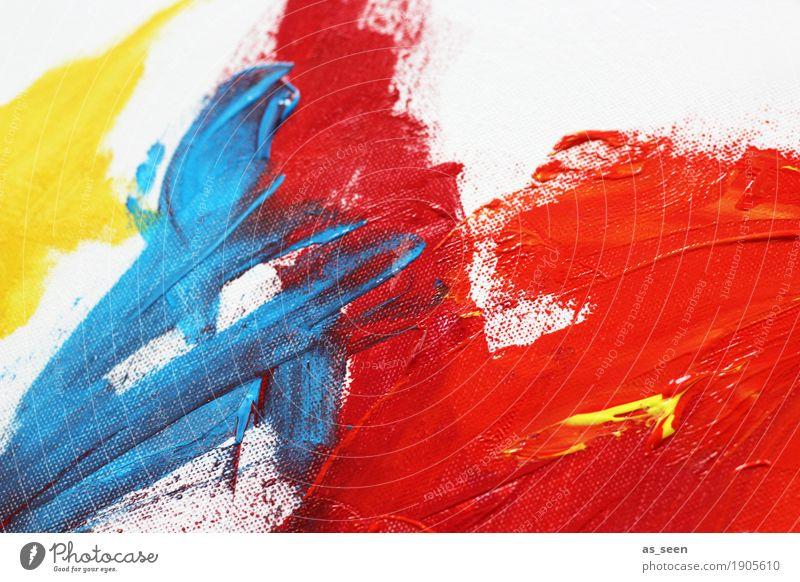 Colours Design Leben harmonisch Freizeit & Hobby malen Dekoration & Verzierung Kunst Maler Ausstellung Kunstwerk Gemälde berühren Bewegung leuchten ästhetisch