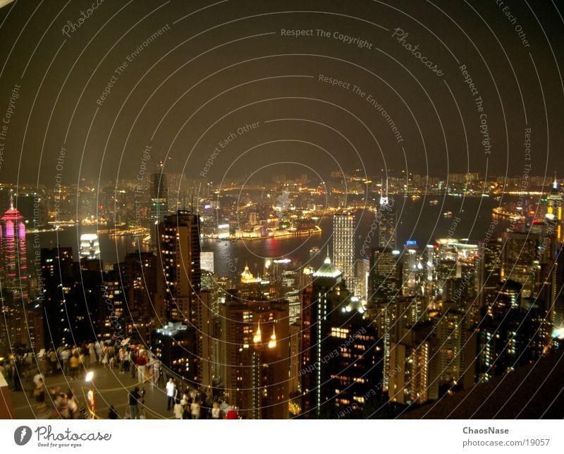 Hong Kong City Stadt Erfolg China Skyline Hongkong