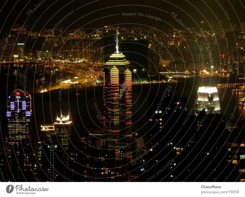 Hong Kong City 2 Stadt Erfolg China Hongkong