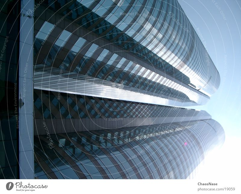 Towers in Hong Kong Architektur Hochhaus China Hongkong