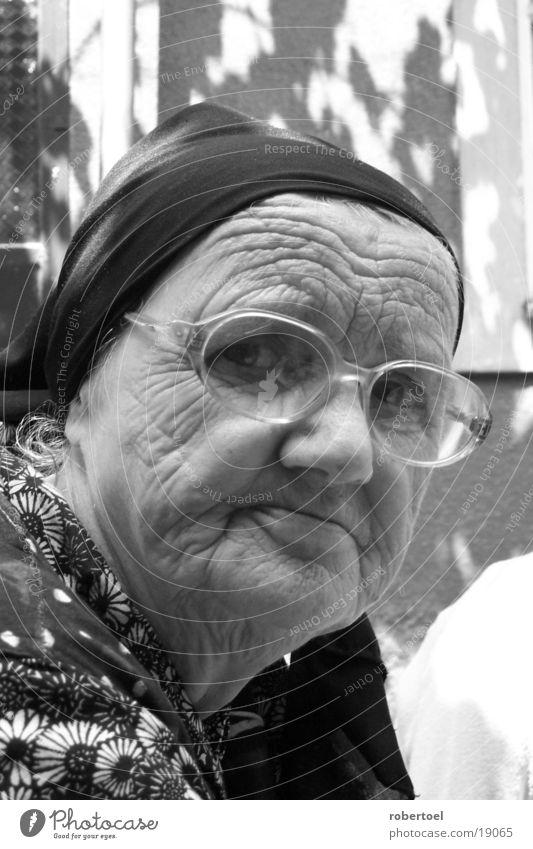 Alte Frau Frau alt