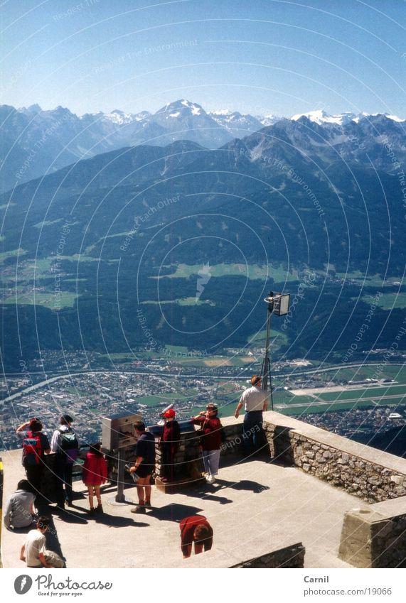 shiny blue 2 Himmel Berge u. Gebirge Tal Bergstation