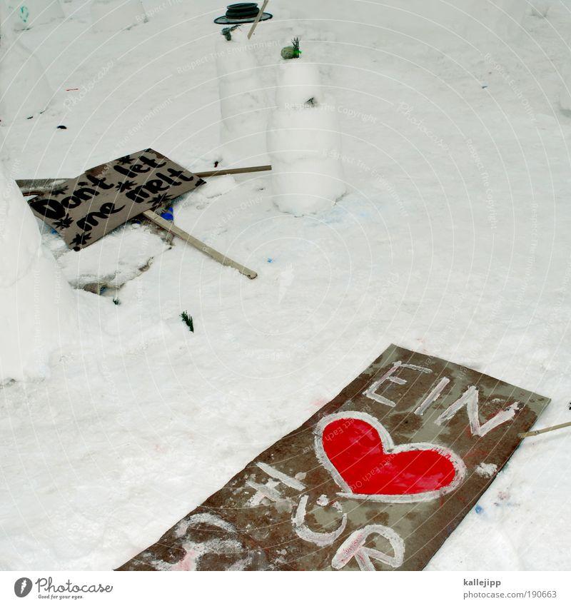 hart aber herzlich Winter Liebe Schnee Umwelt Graffiti Wetter Kunst Kindheit Eis Herz Schilder & Markierungen Klima Schriftzeichen Lifestyle Frost Hinweisschild