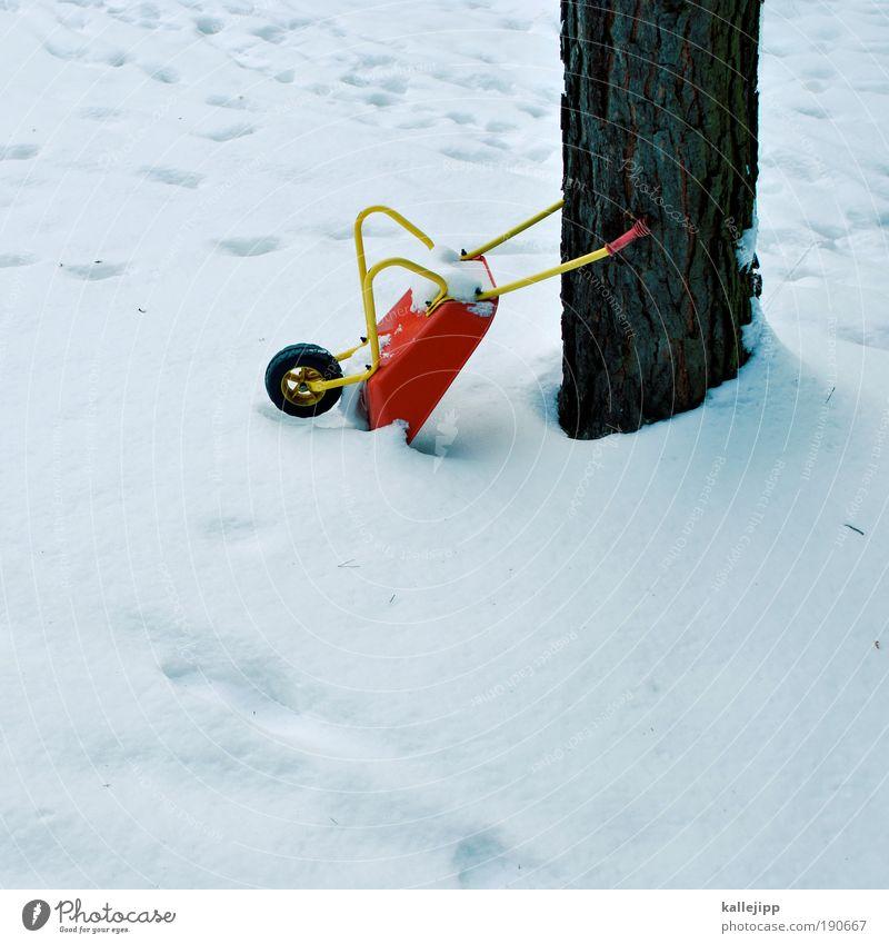 winterschlaf Baum Winter Arbeit & Erwerbstätigkeit Schnee Spielen Umwelt Garten Freizeit & Hobby Kindheit Baustelle Beruf Handwerk Wirtschaft Handwerker