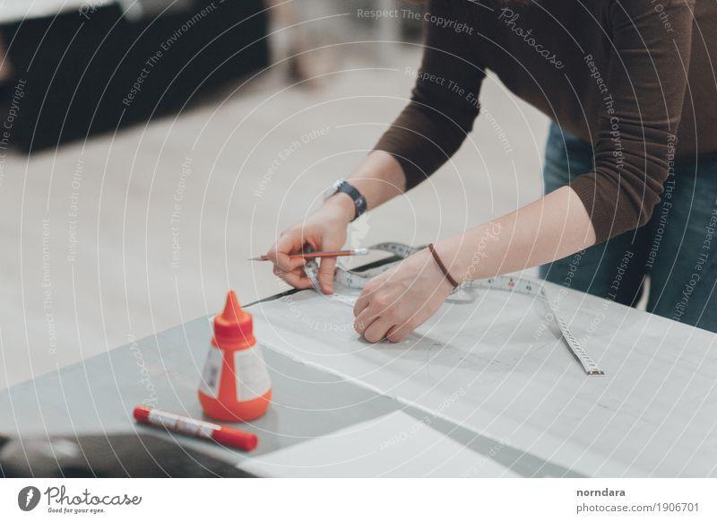 Nähwerkstatt Design Freizeit & Hobby Basteln Werkzeug Messinstrument Schreibstift Arbeit & Erwerbstätigkeit Nähen Modellbau Farbfoto Innenaufnahme