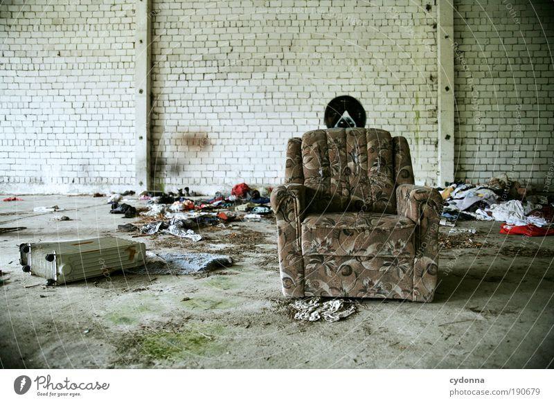 Wärme und Gemütlichkeit Erholung Einsamkeit Wand Leben Innenarchitektur Stil Mauer Lifestyle träumen Zufriedenheit Häusliches Leben Kreativität Zukunft Idee Vergänglichkeit Umzug (Wohnungswechsel)