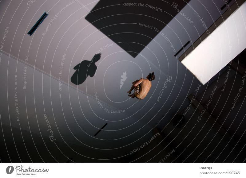 Cannonball Freude Leben Sport Gefühle Architektur springen Stil Körper Freizeit & Hobby Innenarchitektur elegant fliegen maskulin Coolness Lifestyle