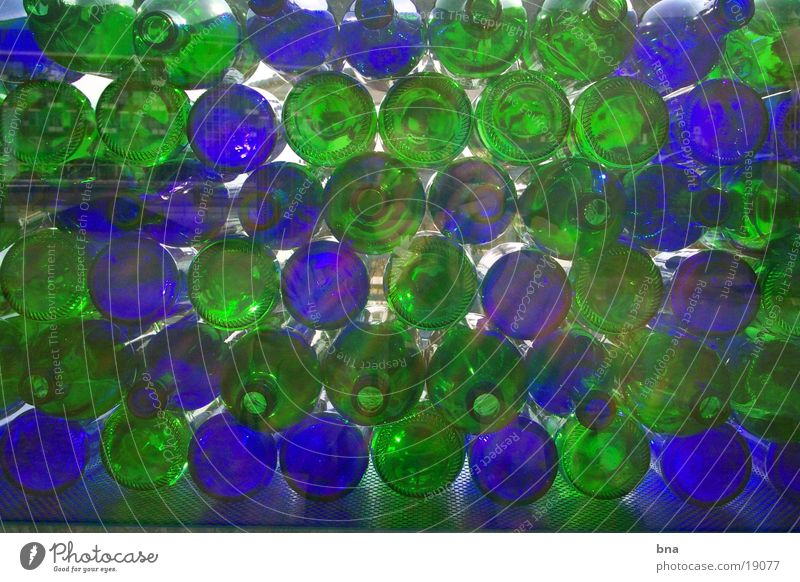 Licht in Flaschen Strukturen & Formen Dinge Glas