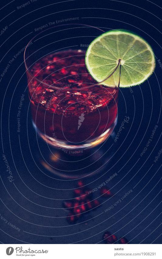 Red Lady Getränk Alkohol Sekt Prosecco Glühwein Glas ästhetisch Coolness elegant Flüssigkeit frisch gelb rot schwarz Stimmung Zufriedenheit Granatapfel