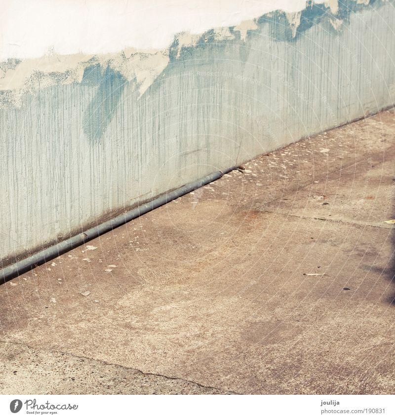 follow me alt blau Farbe Umwelt Straße Architektur Gebäude braun Design dreckig Erde modern Beton kaputt Bauwerk Renovieren