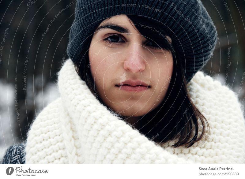 diener ihrer seele. Mensch Natur Jugendliche Erwachsene Gesicht feminin Gefühle Haare & Frisuren Junge Frau träumen hell Stimmung warten elegant 18-30 Jahre Erfolg
