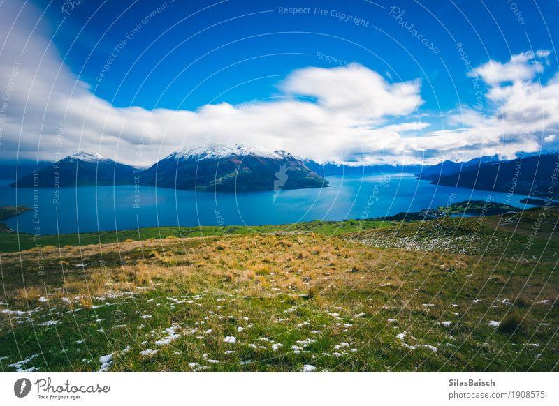 Natur Ferien & Urlaub & Reisen Landschaft Erholung Freude Ferne Berge u. Gebirge Gefühle Lifestyle Küste Freiheit See Tourismus Ausflug wandern Insel
