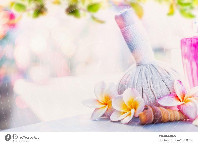 Gesunde Körperpflege und Wellness Hintergrund Natur Ferien & Urlaub & Reisen schön Blume Erholung Lifestyle Gesundheit Stil Design rosa Duft Alternativmedizin