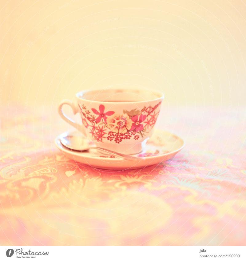 Tea... or coffee, you're always welcome! Kaffeetrinken Bioprodukte Getränk Heißgetränk Kakao Tee Teller Tasse Löffel Leben harmonisch Wohlgefühl Zufriedenheit