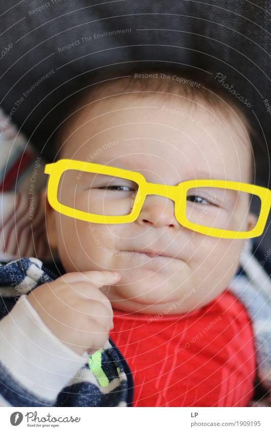 Mensch Kind Freude Gesicht Erwachsene Leben Gefühle Lifestyle Familie & Verwandtschaft Feste & Feiern Freundschaft Kindheit Geburtstag Baby lernen Brille