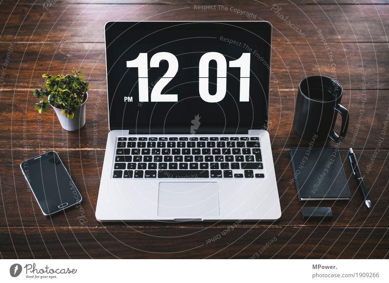 pause im büro Stil Holz Arbeit & Erwerbstätigkeit Büro modern Kreativität Computer Sauberkeit Pause Kaffee schreiben trendy Handy Schreibtisch Arbeitsplatz Notebook