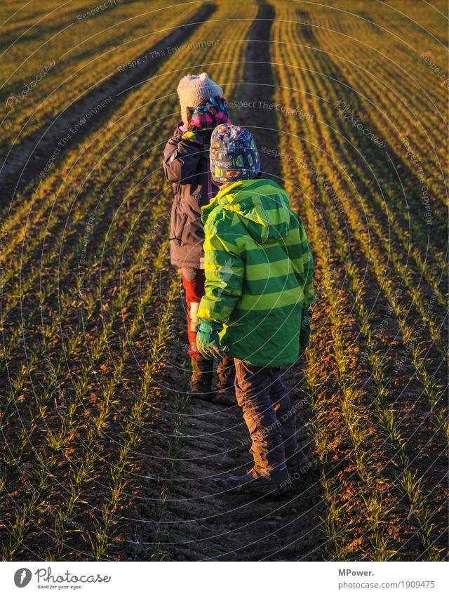 stromern Mensch Kind Mädchen Junge Geschwister Familie & Verwandtschaft familienfreundlich Kindheit Kindheitserinnerung 2 3-8 Jahre Umwelt Natur Landschaft