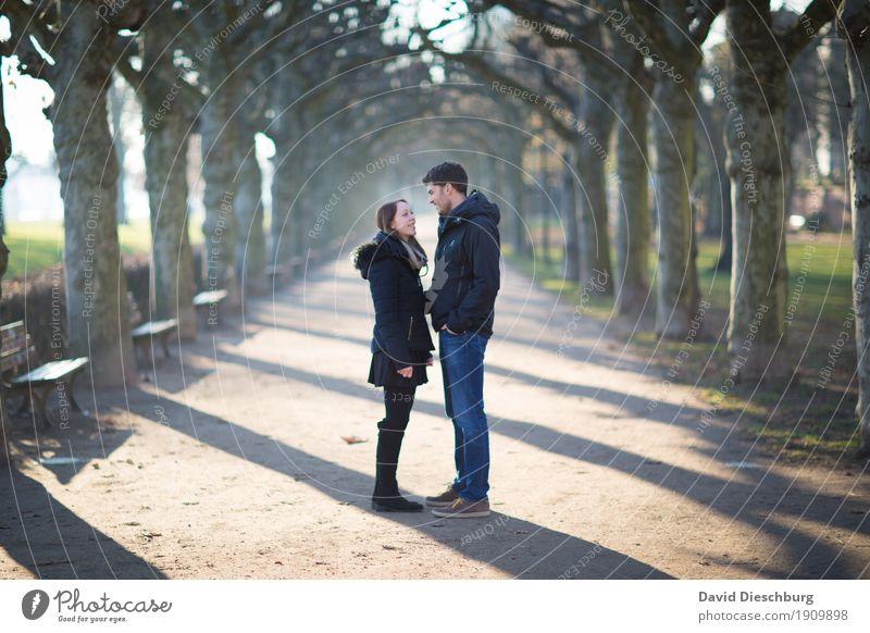Gesucht und gefunden maskulin feminin Paar Partner 2 Mensch 18-30 Jahre Jugendliche Erwachsene Natur Frühling Sommer Herbst Winter Schönes Wetter Pflanze Baum