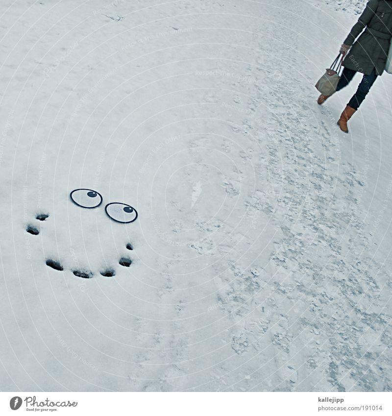 du bringst das eis zum schmelzen Mensch Frau Mann Winter Erwachsene Auge Leben Liebe Schnee Stil lachen Lifestyle Paar Eis Textfreiraum links Frost