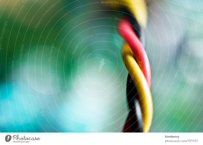 power twister Metall Design Energie Energiewirtschaft Elektrizität Zukunft Industrie Kabel bedrohlich Technik & Technologie Telekommunikation Kunststoff Kontakt