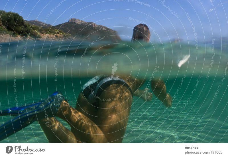 nixe Lifestyle Freizeit & Hobby Ferien & Urlaub & Reisen Freiheit Sommer Sommerurlaub Sonne Strand Meer Insel Wellen Sport Wassersport tauchen Schwimmbad