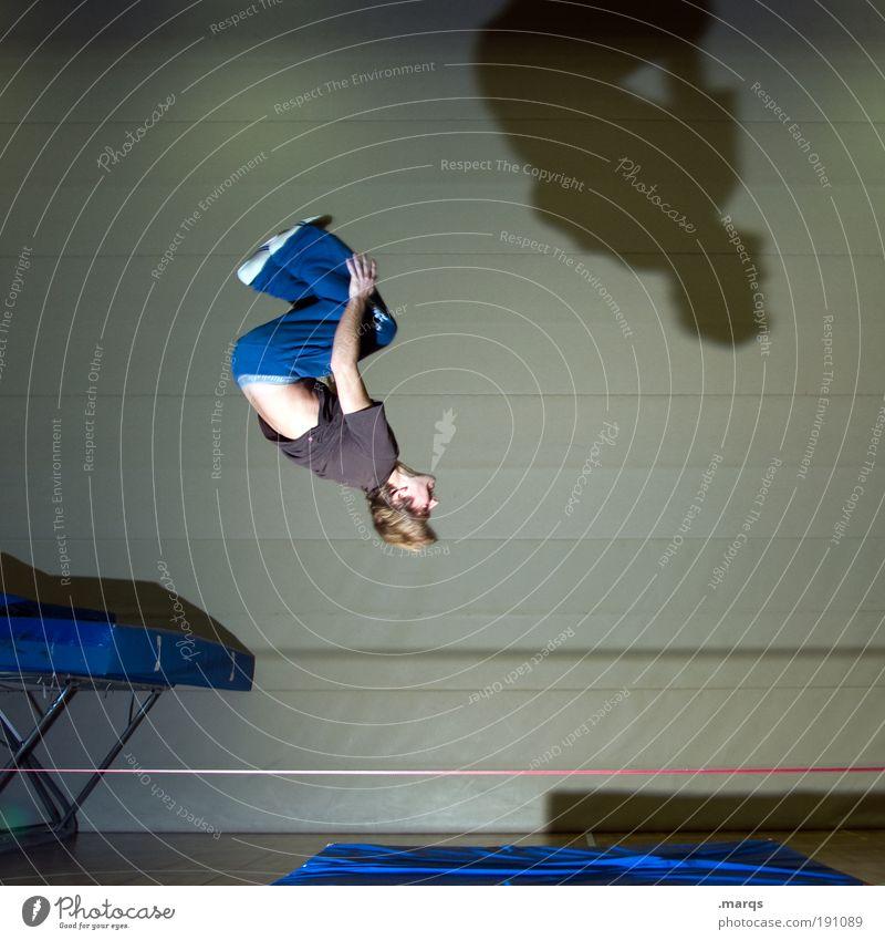 Slackflip Jugendliche Freude Sport springen Stil Bewegung Erwachsene Gesundheit Körper Zufriedenheit Freizeit & Hobby maskulin Lifestyle Coolness einzigartig Mensch