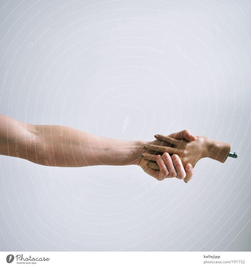 treuhand Mann Hand Erwachsene Leben Paar Freundschaft Arbeit & Erwerbstätigkeit Arme Lebenslauf maskulin Finger Kommunizieren Geldinstitut Bildung festhalten