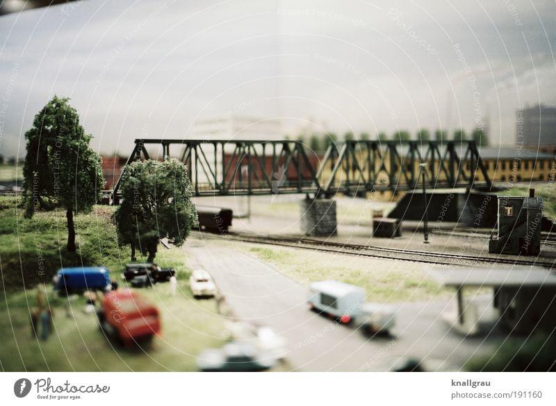 Miniaturwelt #1 Leben Arbeit & Erwerbstätigkeit Verkehr Industrie Brücke Energiewirtschaft Güterverkehr & Logistik Umwelt Modellbau Zentralperspektive Mensch