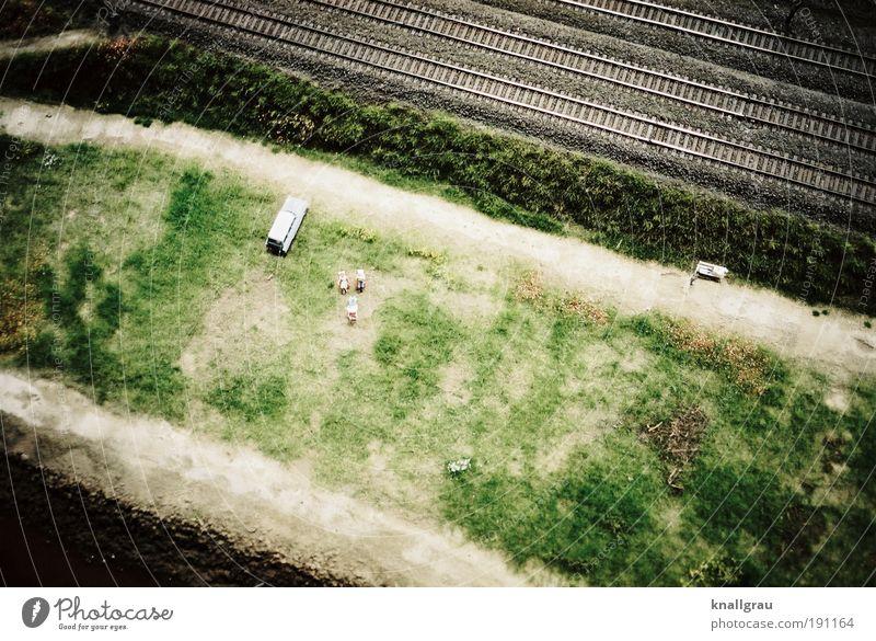 Miniaturwelt #4 Güterverkehr & Logistik Fernweh Schienenverkehr Gleise PKW Liegewiese Erholungsgebiet Ferien & Urlaub & Reisen Schallschutz Modellbau Figur